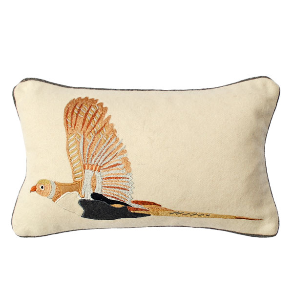 embroidered-pheasant-cushion