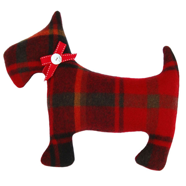 Wheat Red Dog http://www.indigoandrose.co.uk/view-product/Plaid-Wheatdog