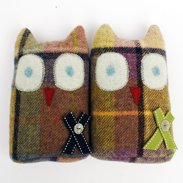 Check Wool Owl