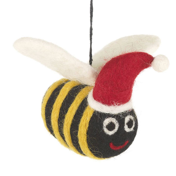 Christmas Bee Decoration