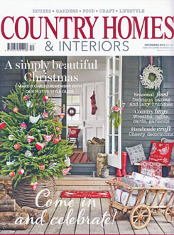 Country Homes and Interiors Dec 2013