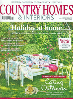 Country Homes and Interiors, August 2013