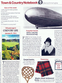 Country Life Jan 29th 2014