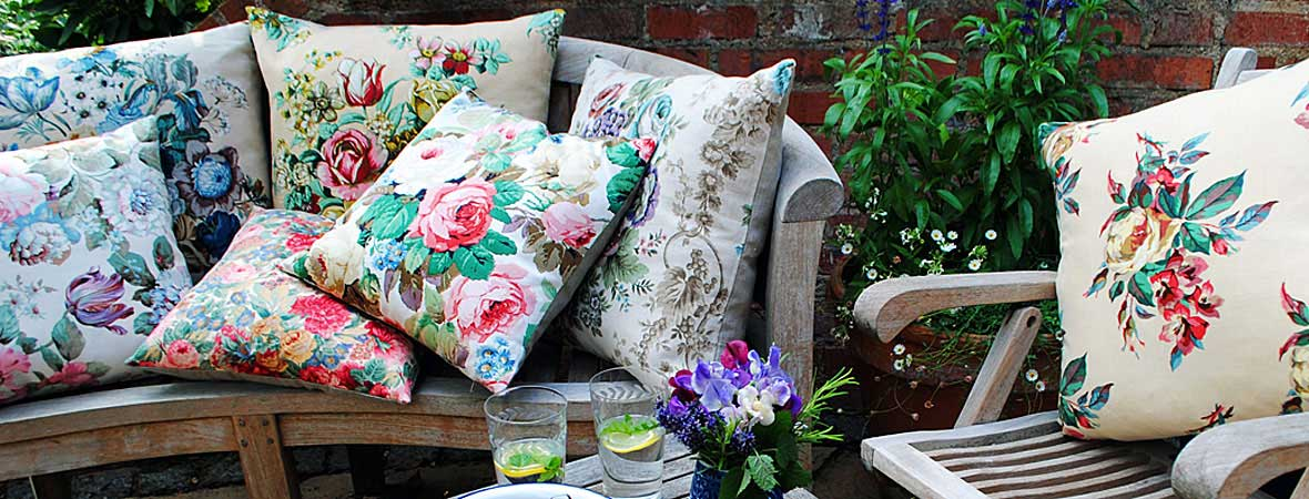 Vintage Floral Cushions