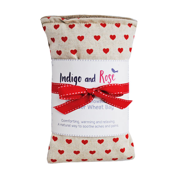 heart wheat bag