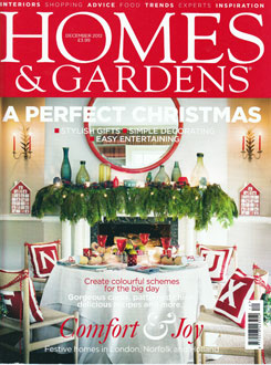 Homes and Gardens Dec 2012