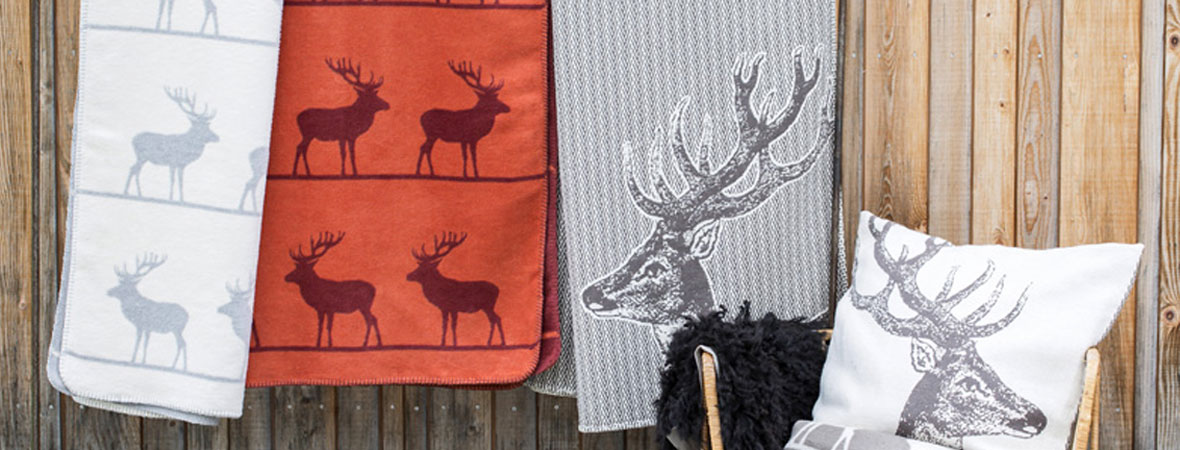 Reindeer Throws and Cushions