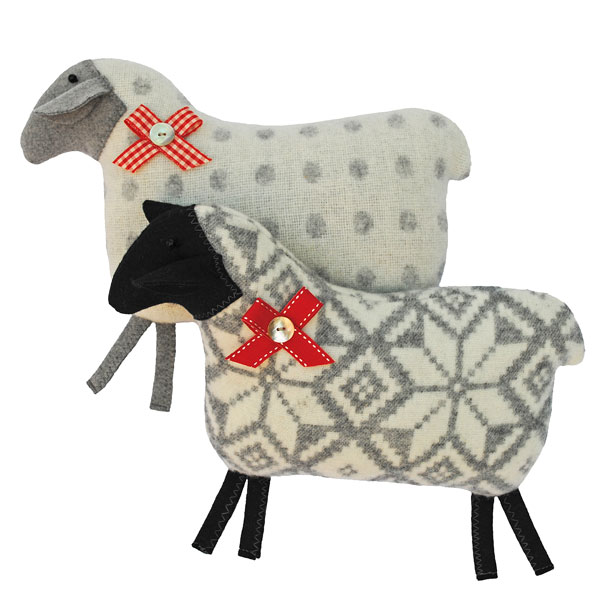 Lambswool sheep