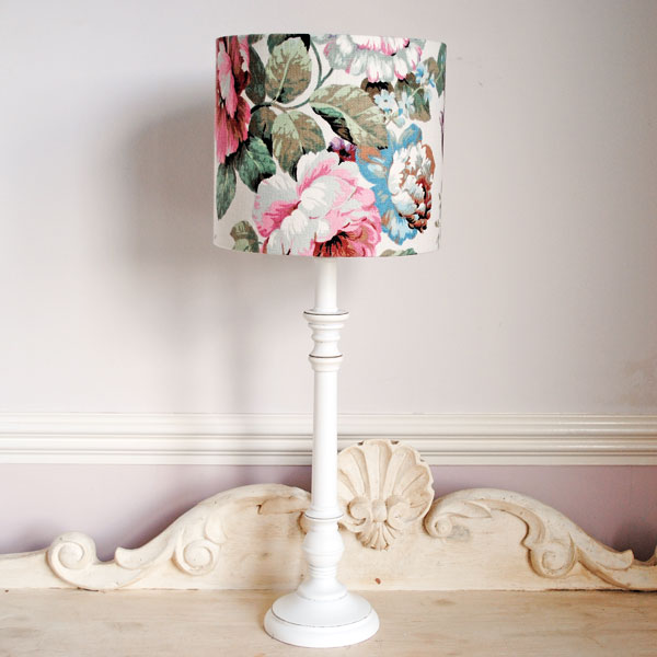 Pastel Floral Lampshade