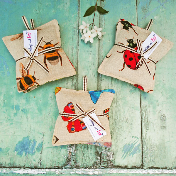 Set of Insect Lavender Bags