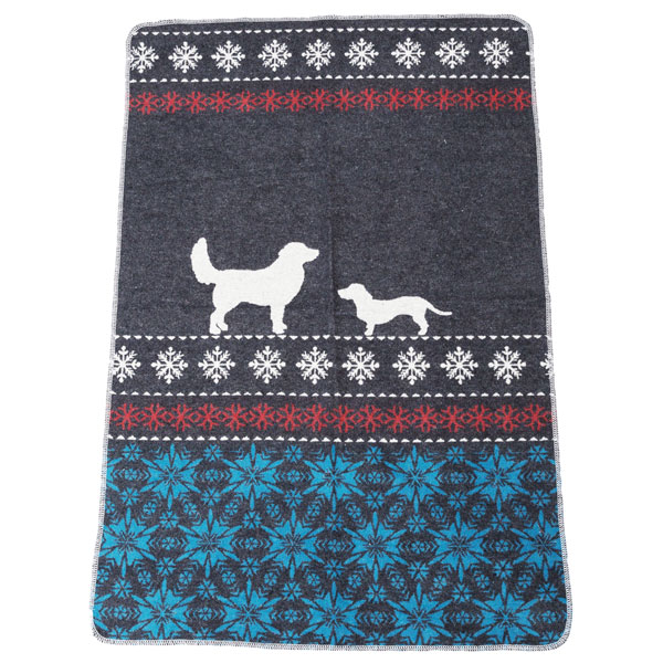 Snowflake Dog Blanket