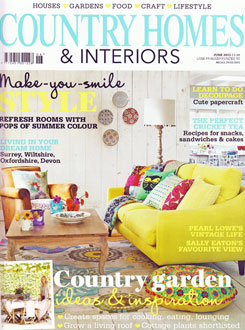 Country Homes and Interiors June 2013